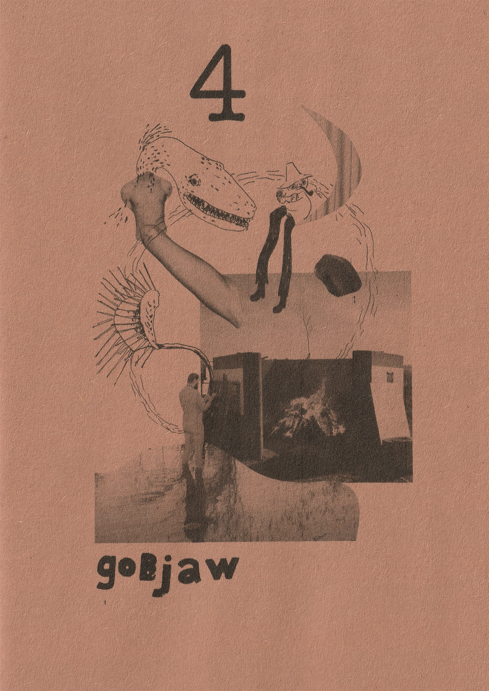 Gobjaw Zine 4 Cover